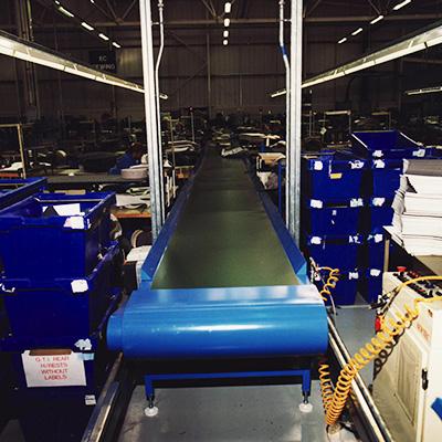 Conveyor Systems | Belt Conveyors - Stainless Steel